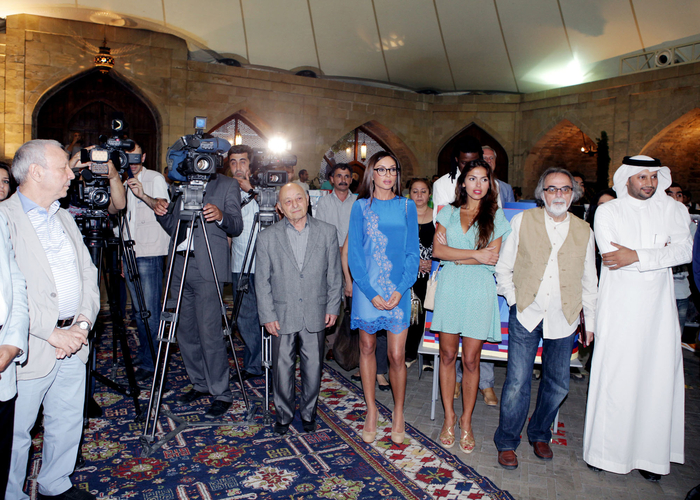 First Lady Mehriban Aliyeva attended Maiden`s Tower international art festival ending event (PHOTO) - Gallery Image