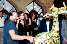 First Lady Mehriban Aliyeva attended Maiden`s Tower international art festival ending event (PHOTO) - Gallery Thumbnail