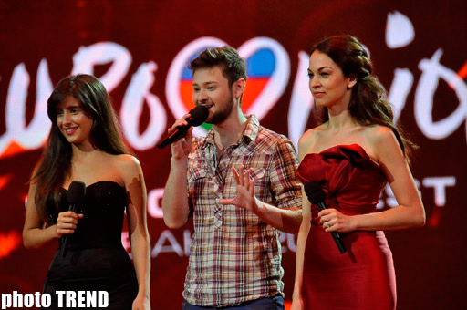 Open rehearsal of Eurovision 2012 grand final held (PHOTO)