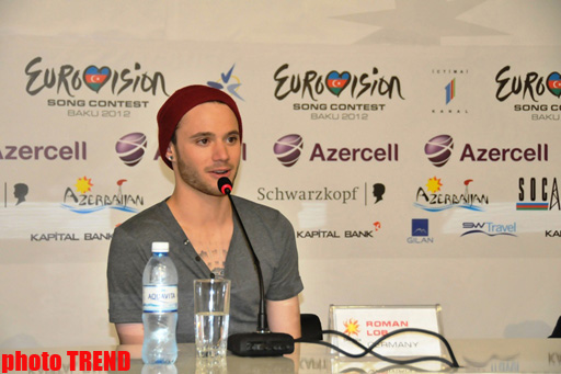 Eurovision-2012 German representative falls in love with Baku - Gallery Image