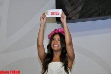 "Украинская участница ""Евровидения-2012"" Гайтана поблагодарила Азербайджан (ФОТО) - Gallery Thumbnail"