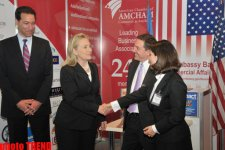 U.S. Secretary of State visits International Caspian Oil and Gas conference in Baku (PHOTO) - Gallery Thumbnail