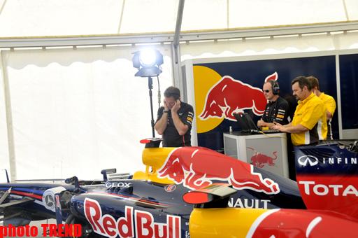 Самый быстрый в мире болид в Баку - грандиозное шоу Red Bull Racing (фото) - Gallery Image