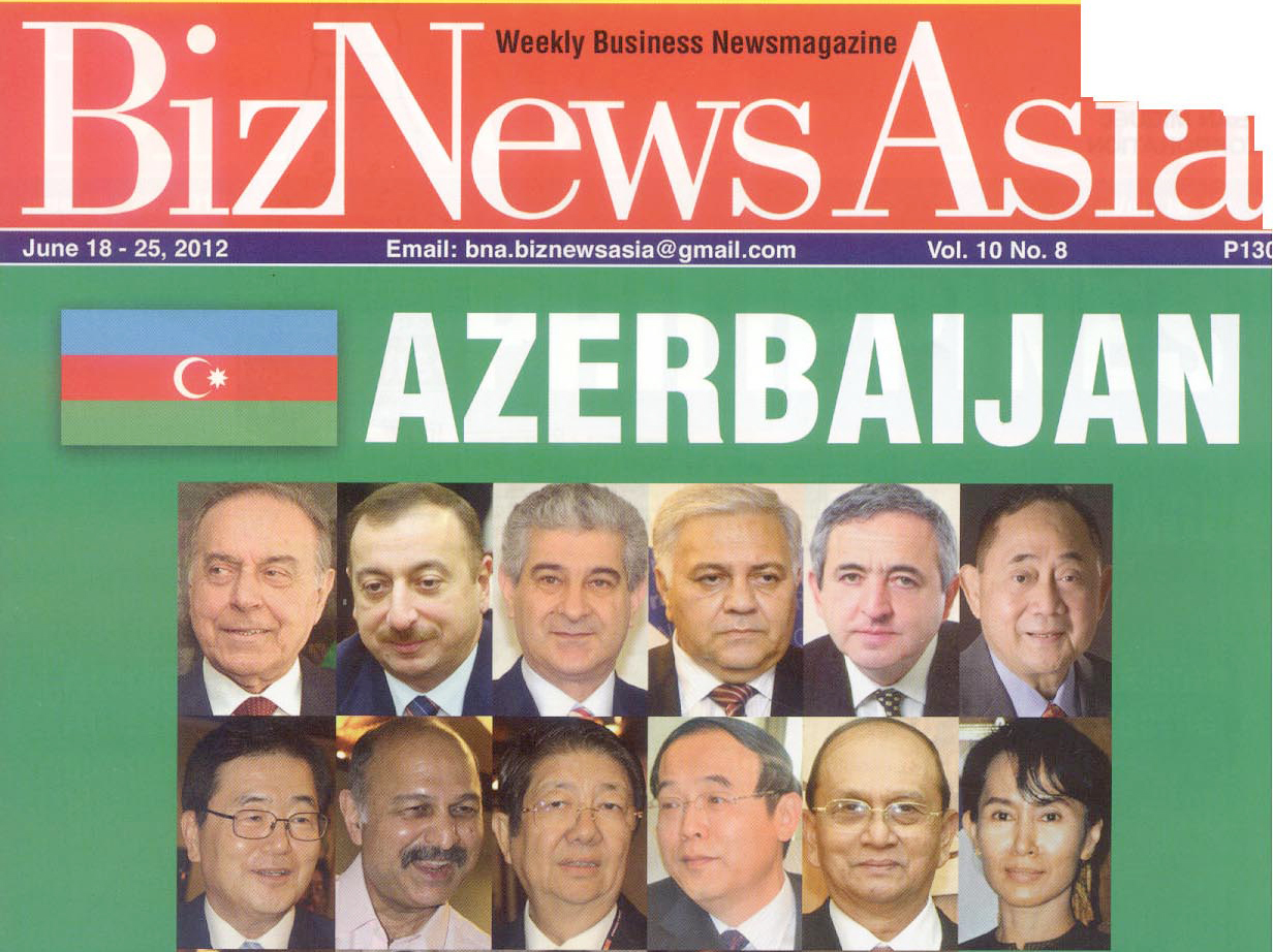 Supplement on Azerbaijan published in Philippines influential magazine