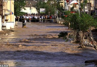 Mudflows inflict damage to houses in four Iranian provinces