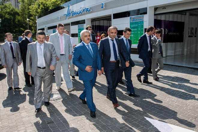 SOCAR commissions new filling complex in Ukraine (PHOTO) - Gallery Image