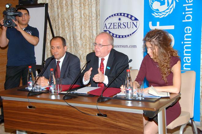 Azersun Holding, UNİCEF sign memorandum of cooperation (PHOTO) - Gallery Image
