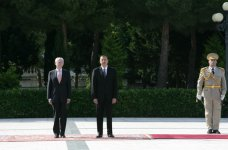 Head of European Council officially welcomed in Azerbaijan - Gallery Thumbnail