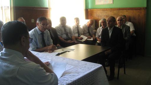 Milli Məclisin deputatı Novruz Aslanov Lahıcda seçicilərlə görüşüb (FOTO) - Gallery Image