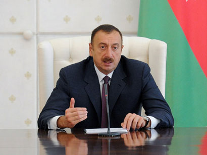 President Aliyev: Co-op between Azerbaijan and Iran excellent