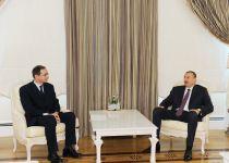 President Ilham Aliyev receives Holcim CEO - Gallery Thumbnail
