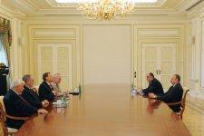 İlham Əliyev Minsk qrupunun həmsədrlərini qəbul edib - Gallery Thumbnail