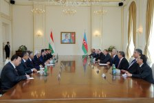 President: Very close and fraternal relations historically exist between Azerbaijani and Tajik peoples - Gallery Thumbnail