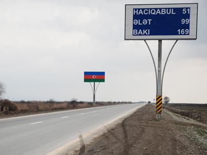 Bakıdan Gürcüstan sərhədinədək yolların genişləndirilməsi planları açıqlanıb (FOTO)