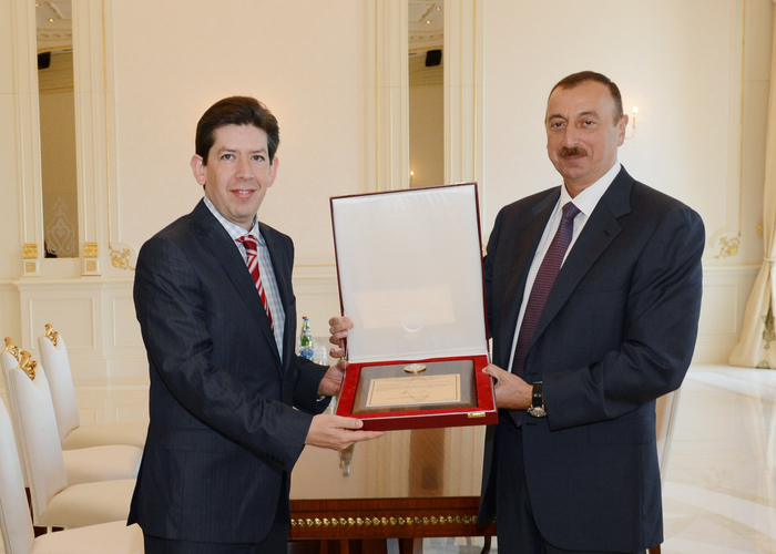 Azerbaijani President receives delegation led by President of Chamber of Deputies of Mexican Congress - Gallery Image