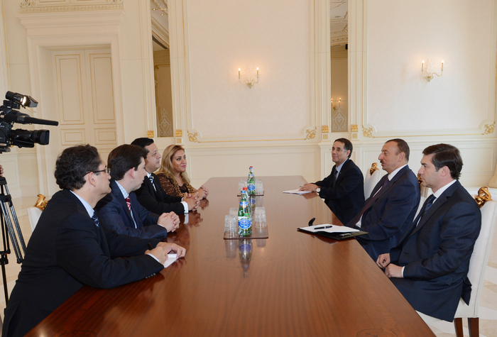 Azerbaijani President receives delegation led by President of Chamber of Deputies of Mexican Congress
