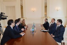 Azerbaijani President receives delegation led by President of Chamber of Deputies of Mexican Congress - Gallery Thumbnail