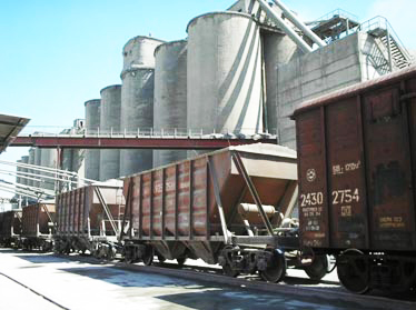 Turkey raising export of cement to int'l markets