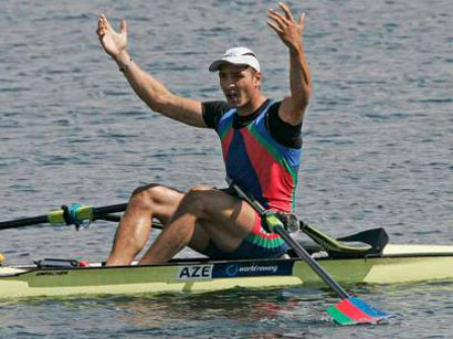 Azerbaijani rower passes to semifinal of Olympic Games in London