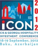 HVS to host its First CIS & Georgia Hospitality Investment Conference iCON 2012 in Baku - Gallery Thumbnail