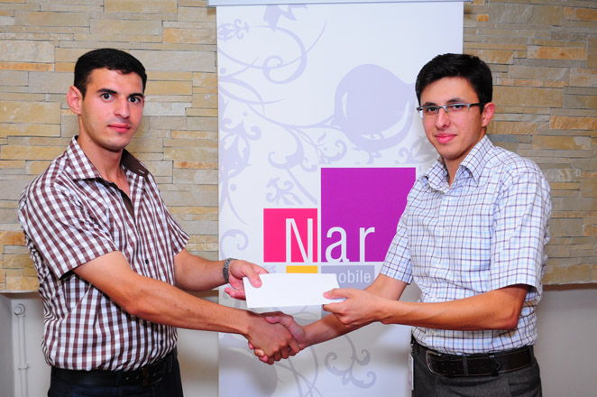 First winners of 'Win with Nar' campaign unveiled by Nar Mobile (PHOTO)