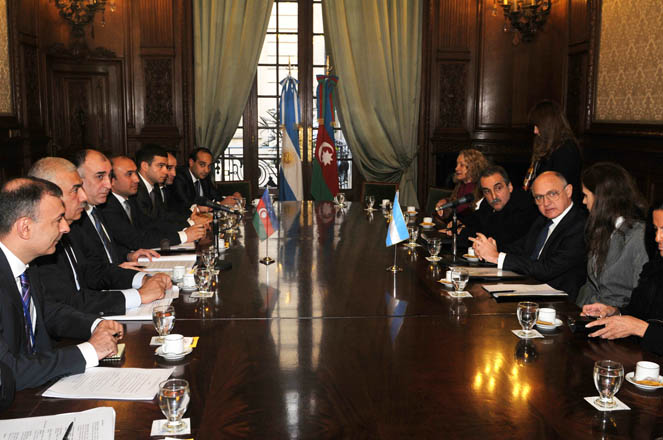 Azerbaijan, Argentina sign agreement on trade and economic cooperation (PHOTO) - Gallery Image