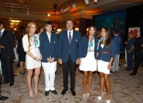 President: Azerbaijan hopes athletes will represent country worthily in this competition and raise its flag (PHOTO) - Gallery Thumbnail