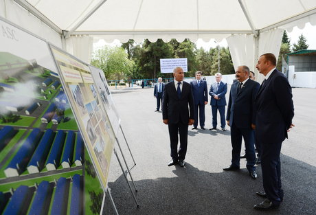 President Ilham Aliyev visits Jalilabad Broiler`s newly-reconstructed poultry meat production facility (PHOTO) - Gallery Image