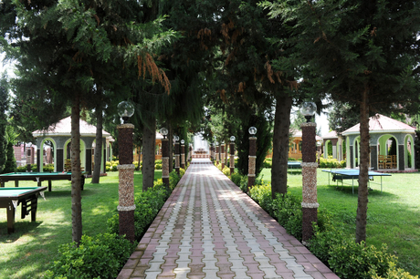 President of Azerbaijan gets acquainted with newly reconstructed Youth Park and Flag Square in Jalilabad (PHOTO)