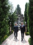 President of Azerbaijan gets acquainted with newly reconstructed Youth Park and Flag Square in Jalilabad (PHOTO) - Gallery Thumbnail