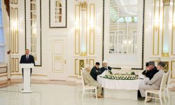 President Ilham Aliyev attends Iftar Party (PHOTO) - Gallery Thumbnail