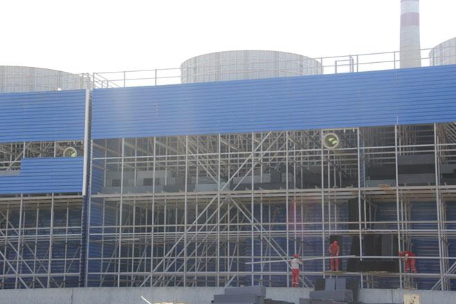 """Начат новый этап строительства градирни на заводе """"Этилен-полиэтилен"""" в Сумгайыте (ФОТО) - Gallery Image"""