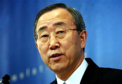 UN chief warns Syria crisis threatens region