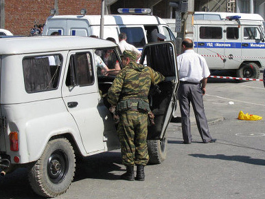 2 Russian soldiers killed in shooting in Russia's Dagestan