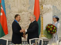 Belarus President hosts official dinner in honor of Azerbaijani counterpart (PHOTO) - Gallery Thumbnail