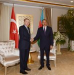 President of Azerbaijan and Prime Minister of Turkey meet one-on-one in Gabala (PHOTO) - Gallery Thumbnail