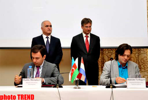 Азербайджан и Голландия подписали четыре документа (ФОТО) - Gallery Image