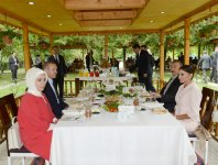 President of Azerbaijan and Premier of Turkey get acquainted with hotel complex in Sheki (PHOTO) - Gallery Thumbnail