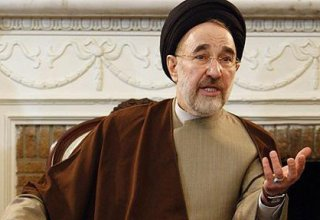 Iran's reformist ex-president backs Rouhani's re-election
