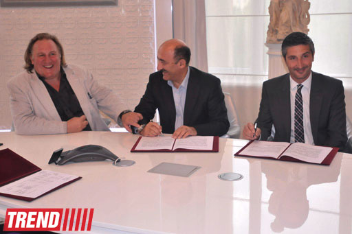World-renowned actor attends contract signing ceremony on Azerbaijanfilm studio reconstruction in Baku (PHOTO) - Gallery Image