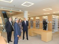 President Ilham Aliyev and his spouse opens Diplomatic Academy's new building (PHOTO) - Gallery Thumbnail