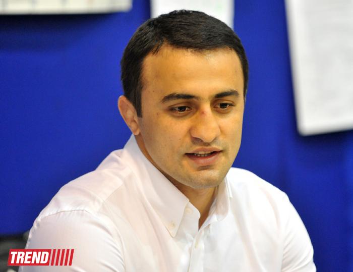 Олимпийский чемпион встретился с членами сборной Азербайджана по гимнастике (ФОТО) - Gallery Image