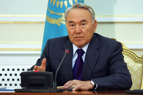 Nazarbayev names head of his administration's law enforcement system department