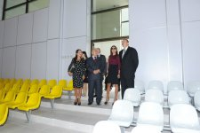 Azerbaijani President and First Lady participate in opening of MSU Baku branch's new building (PHOTO) - Gallery Thumbnail