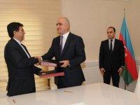 Azerbaijan signs charter on ECOBANK membership (PHOTO) - Gallery Thumbnail