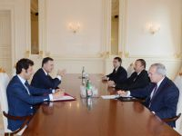President Ilham Aliyev receives former Italian foreign minister - Gallery Thumbnail