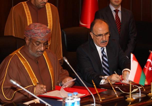 Turkey, Oman sign memorandum to deepen relations