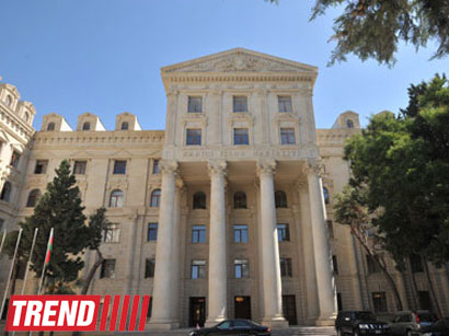 Azerbaijani Foreign Ministry: Armenian President is exacerbating an already difficult situation