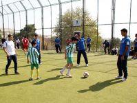 Futbol üzrə Azərbaycan yığmasının üzvləri Bakı SOS Uşaq Kəndində olublar (FOTO) - Gallery Thumbnail