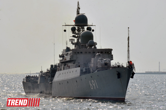 Russia begins large-scale exercises in Black Sea